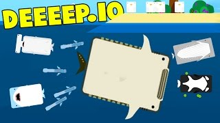 Download lagu Deeeep io THE MOST OVER POWERED FISH The Whale Shark New Animals Deeeep io Gameplay MP3