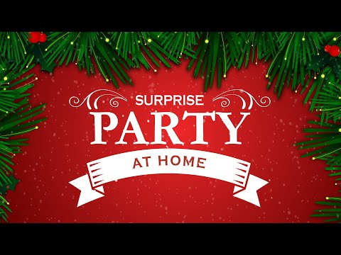 Surprise Party - at Home -  Virtual Cookie Decorating with Mrs. Claus video thumbnail