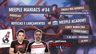 Meeple Maniacs #034 - Corey Konieczka