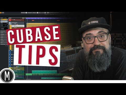 Easy ways to BOUNCE audio back in CUBASE