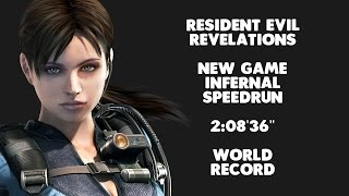 Resident Evil Revelations - New Game Infernal Speedrun - 2:08