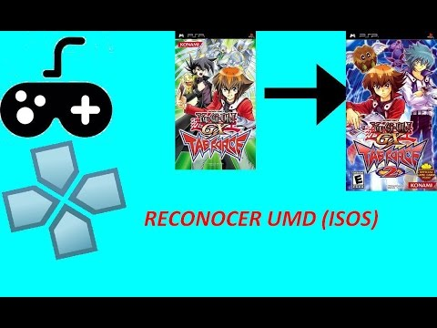 Tutorial: Reconocimiento UMD (ISO) para ppsspp en Yugioh Tag Force | World Play