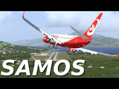 [FSX] SAMOS LANDING (NEW AWESOME SCENERY!!)