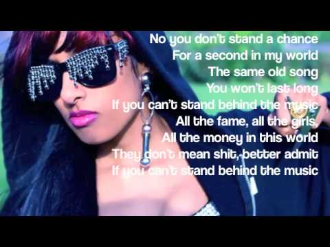 Stand Behind The Music Lyrics - Anjulie | Lyricscode