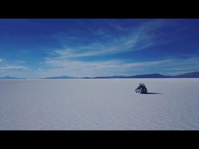 Best lunch un in the Salty Desert Uyuni-Bolivia.