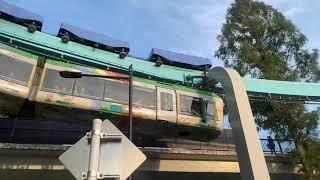 2019.10.1上野動物園モノレール 上野懸垂線