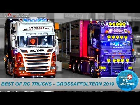 BEST OF RC TRUCK EVENT IN GROSSAFFOLTERN 2019, SWITZERLAND