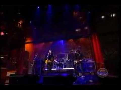 Dirty Pretty Things on the Late Show with David Letterman