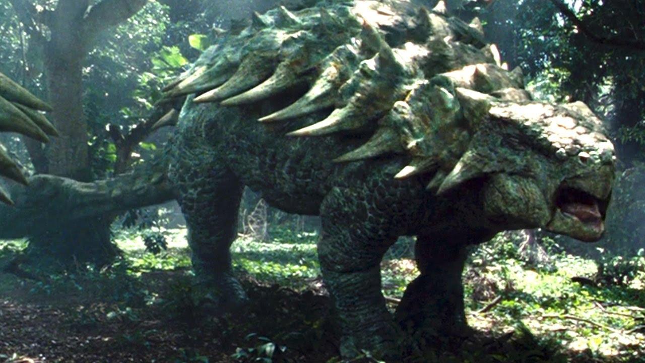 Ankylosaurus w t rex roars youtube - Dinosaure de jurassic park ...