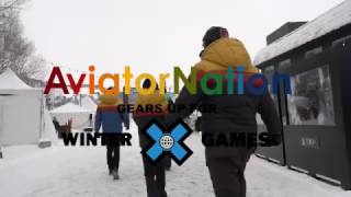 Aviator Nation X-Games 2017 Behind The Scenes Set Up