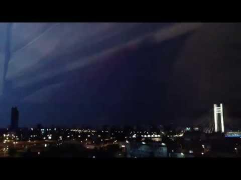 Thunderstorm in Bucharest, Romania