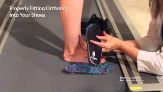Properly Fitting Your Orthotics Into Your Shoes - Sports Performance - San Francisco Podiatrist