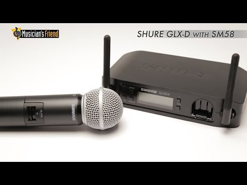 ShureGLX-D Wireless Vocal System with SM58 Mic