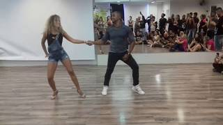 Carlos e Fernanda - how to improve your level - Zouk Day Congress 2017