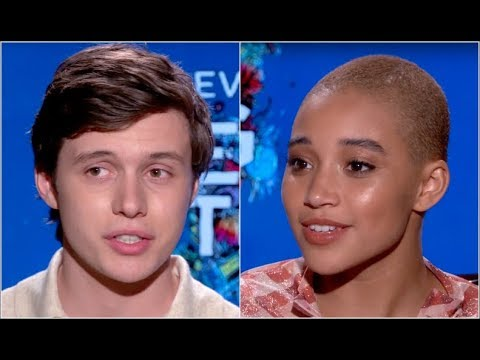 Amandla Stenberg and Nick Robinson on Their Vision for Everything, Everything. EXCLUSIVE INTERVIEW