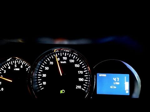 PRO Расход топлива за городом. Дизельный Renault Duster. 1.5 МКПП 6 ст.