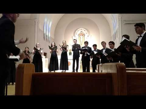 The Three Flower Songs, Eric Whitacre