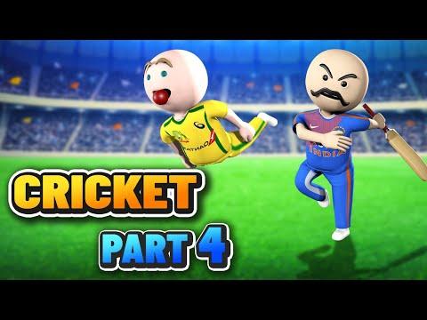 3D ANIM COMEDY - CRICKET WORLD CUP SERIES || INDIA VS AUSTRALIA || PART4
