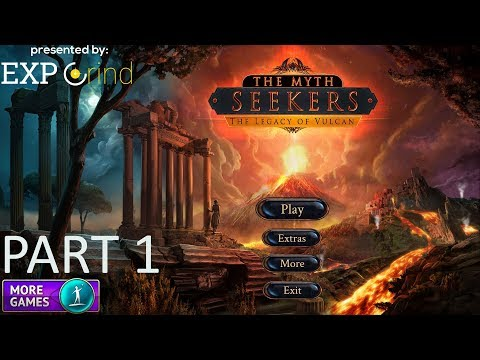 The Myth Seekers: The Legacy of Vulcan Part 1 GAMEPLAY Hidden Object Game Walkthrough - Steam [PC]