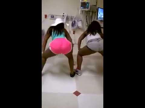 ratchet black girls twerking in the hospital - youtube