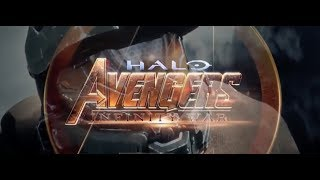 HALO - AVENGERS INFINITY WAR TRAILER (Comparison)
