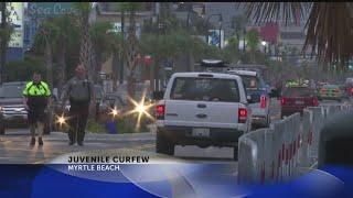 Myrtle Beach City Council moves up juvenile curfew