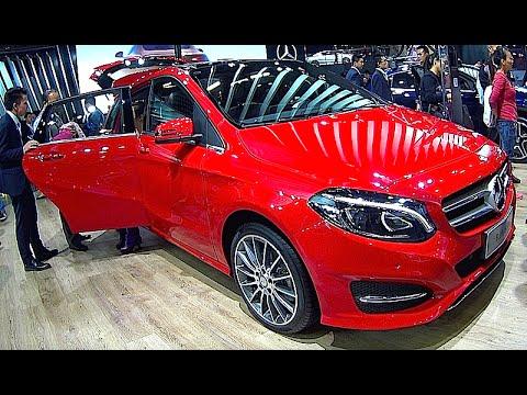 new mercedes b200 2016 2017 sedan interior exterior. Black Bedroom Furniture Sets. Home Design Ideas