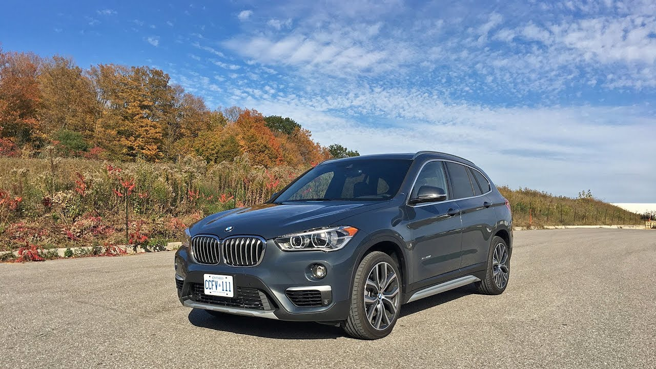 2018 bmw x1 xdrive28i review youtube