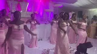 BRIDESMAIDS SHOCKED THE GROOM