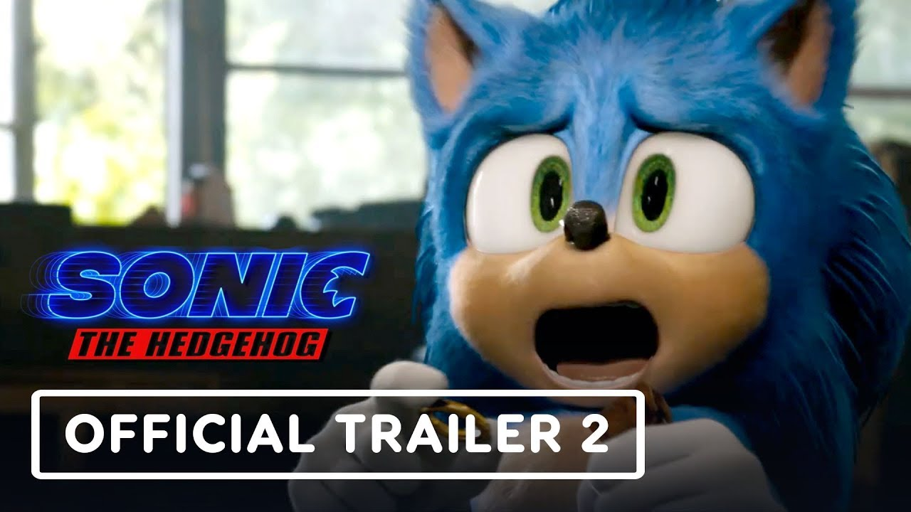 Sonic The Hedgehog Official Trailer 2 2020 Jim Carrey James