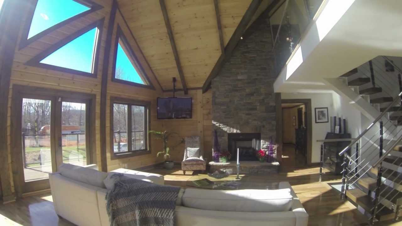 Timber block home tour hickory nc youtube for Video home tours