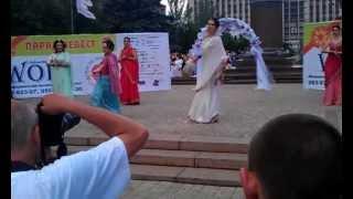 Парад невест 2013 в Донецке