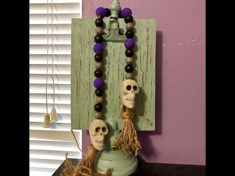 Halloween Farmhouse Beads