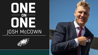 Josh McCown Discusses His Relationship w/ Carson Wentz, Longevity, & More | Eagles One-On-One
