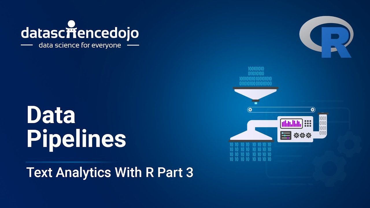 Introduction to Text Analytics with R: Data Pipelines