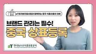 [aT 현지화] 7. 소중한 브랜드 관리를 위한, 중국…