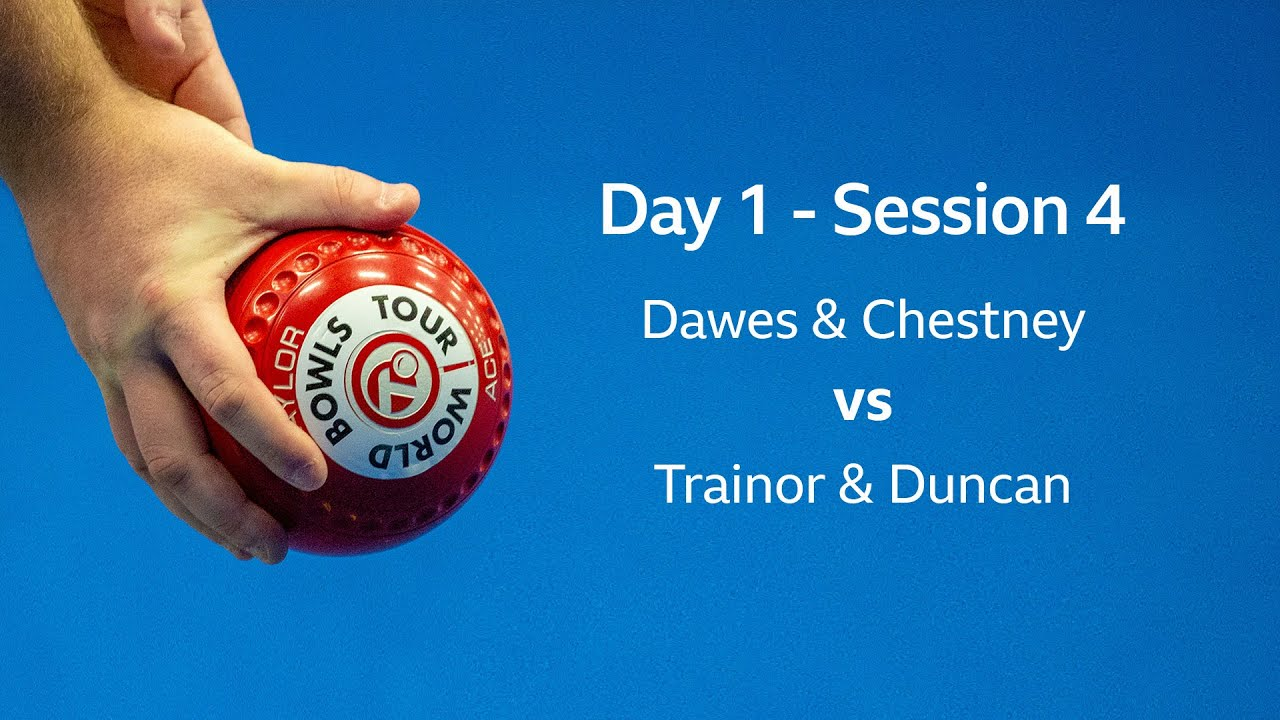 Just 2020 World Indoor Bowls Championships Day 1 Session 4