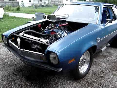 351 Cleveland V8 Powered Ford Pinto part II- up and running!
