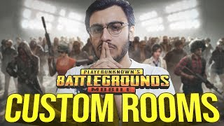 PUBG MOBILE LIVE: CUSTOM ROOMS | SUBSCRIBERS AND MEMBER GAMES