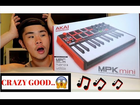 Akai MPK Mini MKII UNBOXING (FIRST TIME) - Aisoro - Video