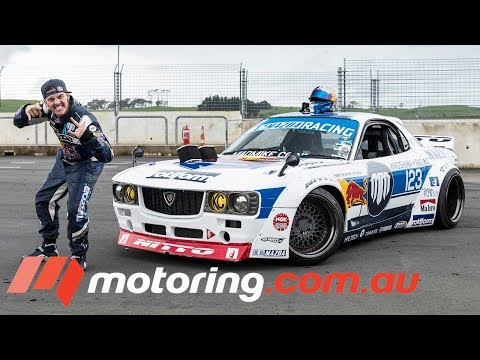 Learning how to drift with Mad Mike | motoring.com.au