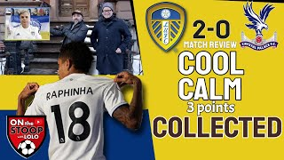 How good is RAPHINHA?! Leeds United 2-0 Crystal Palace POST MATCH REVIEW from BROOKLYN