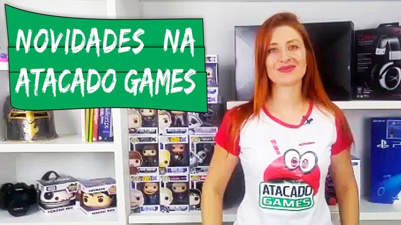 1c4cf4c40 Confira as novidades na Atacado Games no Paraguai - YouTube