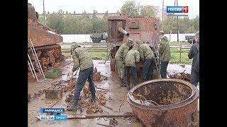 В Мурманске восстанавливают сразу два американских танка времён Великой Отечественной войны