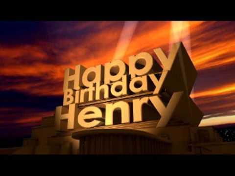 happy birthday henry Happy Birthday Henry   YouTube happy birthday henry
