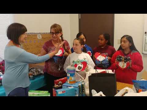 Village Charter Academy's Operation Blankets of Love Collection Drive