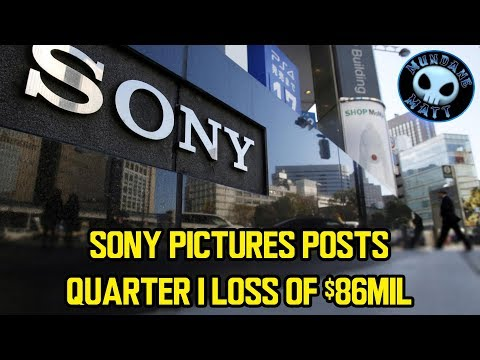 Sony Pictures posts Q1 loss of $86mil (sale imminent?)