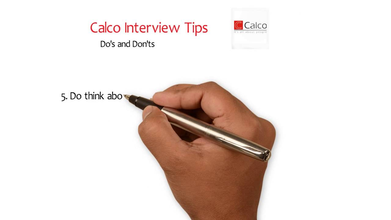 Lovely Calco Recruitment Services Interview Tips Advice