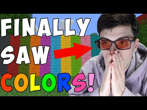 Minecraft, But I'm Not Colorblind Anymore... - GeorgeNotFound
