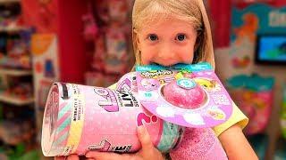 Download ЧТО ЗА ЛОЛ КУПИЛА Милана?? КРУТЫЕ игрушки КОТОРЫХ НЕТ в МОСКВЕ распаковка!! Mp3 and Videos
